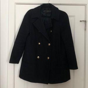 Zara wide pea coat